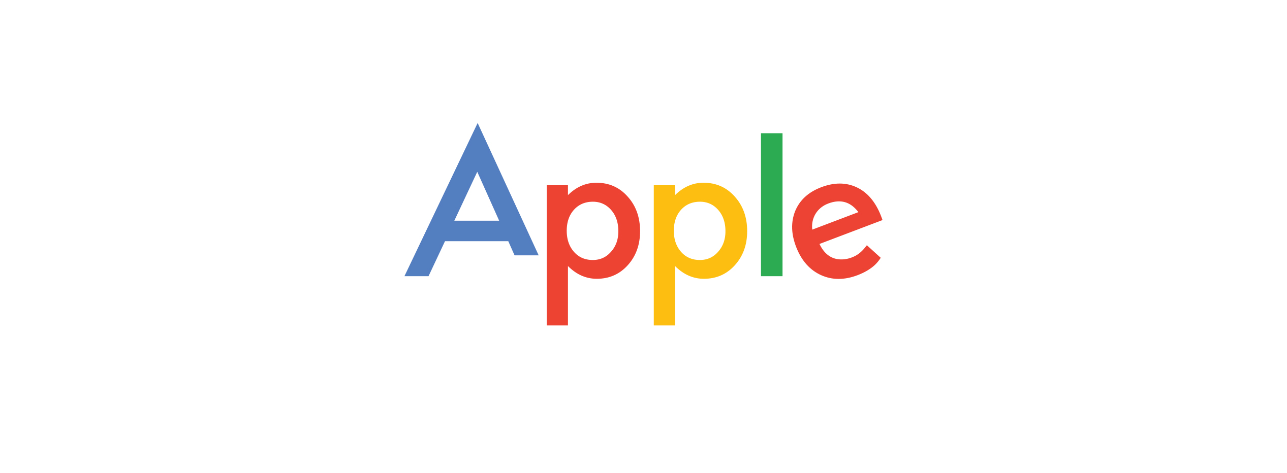 Apple new logo has much faster adoption rate than Goolge new one